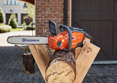 Husqvarna 120i battery powered chainsaw Galway