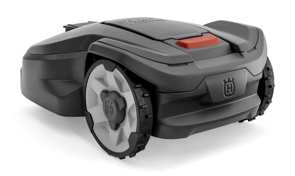 Husqvarna 305 Automower Rear Profile